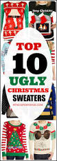 10 ugly christmas sweaters 36th avenue