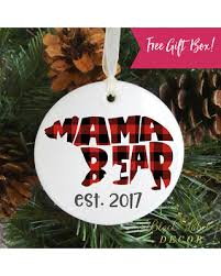 slash prices on buffalo plaid ornament babys