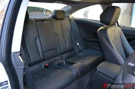 Bmw I8 Back Seats - 2014 bmw 4 series coupe rear seats forcegt com