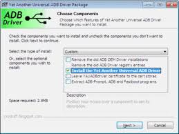 android adb driver windows yet another universal adb driver p android development