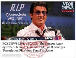 sylvester stallone is not dead death posts link to scam websites