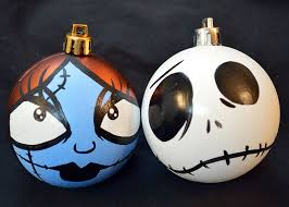 all balls nightmare before ornament set and