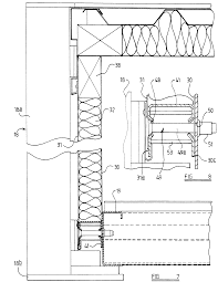patent ep0693601a2 wall panel structure for portable building