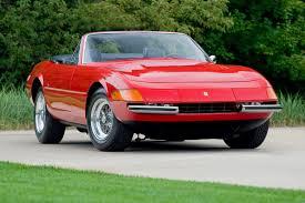 1972 daytona spyder car classics 1972 365 gts 4 daytona spyder