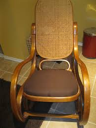 Rocking Chair Seat Replacement Nagle5 News Quick Fix For A Bentwood Rocker