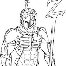 mighty morphin power rangers coloring pages original power