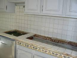 plan de travail carrelé cuisine bton cir sur carrelage plan de travail cuisine repeindre sur