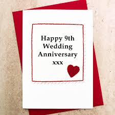 9th wedding anniversary gifts 9th wedding anniversary gift ideas lading for