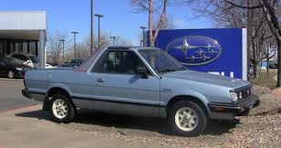 subaru brat 2015 photo of the day what a nice subaru brat truck news views and