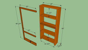 How To Build Bookshelves How To Build A Bookcase Wall Howtospecialist How To Build