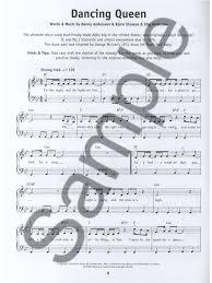really easy piano abba piano sheet music sheet music