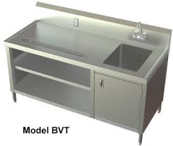 prep table with sink stainless steel prep table with sink befon for