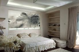 tableau chambre decoration déco chambre coucher chic tableau doux idées déco