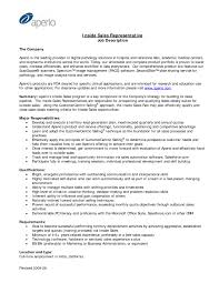 Sales Associate Job Duties For Resume by Inside Sales Job Description Resume Free Resume Example And