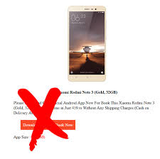 amazon app scam black friday spam amazon new year dhamaka redmi note 3 for rs 459 check4spam