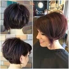 short inverted bob hairstyles back view hair pinterest short