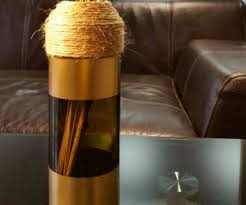 Diy Wine Bottle Vases Diy Wine Bottle Vase 6 Steps With Pictures