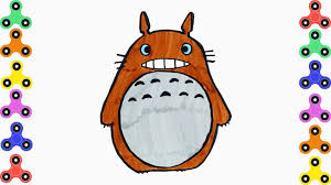 coloring pages totoro from my neighbor totoro drawing book for