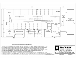 Auto Dealer Floor Plan Typical Layouts