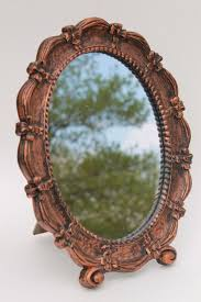 Vanity Stand Mirror Vintage Mirrors Pictures Frames And Prints