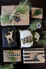 black gift wrap rustic gift wrap ideas create celebrate
