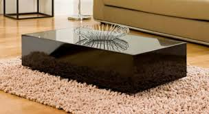 Coffee Tables Black Glass 20 Creative Black Coffee Tables Made Of Wood And Glass
