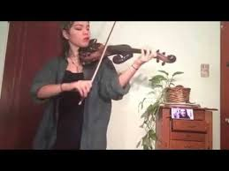 the happy thanksgiving song miranda sings electric violin cover