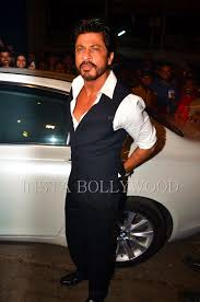 shahrukh khan at sanjay leela bhansali u0027s party hd pics