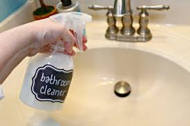 how to make natural bathroom cleaner remodelaholic diy all natural bathroom cleaner