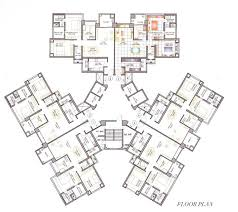residential floor plans pretentious 15 architectural plans residential high rise