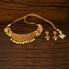plated choker necklace images Buy fancy gold plated choker necklace 15339 online buy necklace JPG