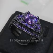 Black Diamond Wedding Ring Sets by Aliexpress Com Buy Choucong Luxury Jewelry 10kt Black Gold