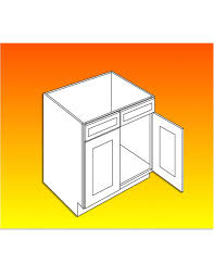 how big are kitchen base cabinets sink base cabinet luxor white 36w