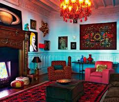 bohemian home decor ideas bold color bohemian home decor ideas in