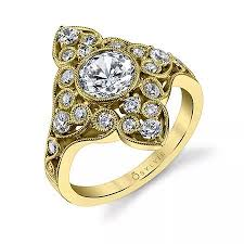 new rings style images Wedding jewelry style spotlight yellow gold engagement rings jpg