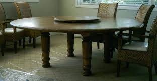 Dining Room Table With Lazy Susan Large Dining Table With Lazy Susan New Silver Avenue