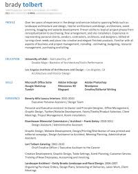 Sample Resume Of An Architect by Dissecting The Good And Bad Resume In A Creative Field Emily