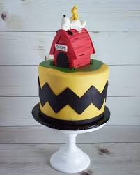 snoopy cakes snoopy cake for second birthday baby s birthday