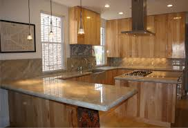 kitchen ceramic floor granite countertop wall cabinet wall
