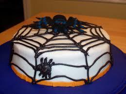 halloween cake mix spider web halloween cake cakecentral com