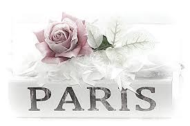 Shabby Chic Rose by Paris Dreamy Pastel Pink Roses On Paris Book Romantic Paris