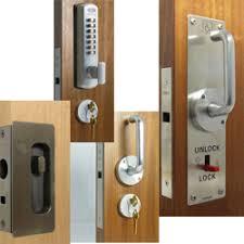 Patio Door Handle With Lock Pocket Door Hardware Locks Wheels And Guides