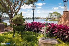 Flower Topiary The Topiaries Of The 2017 Epcot Flower U0026 Garden Festival Guide2wdw