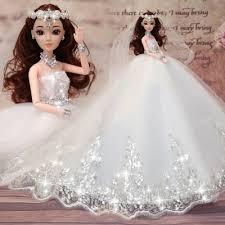 chagne wedding dress change wedding dress barbib doll gift box for children girl