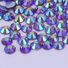 online buy wholesale rhinestones flat back from china rhinestones color light amethyst ab flat back non hotfix rhinestones for nail art deco size ss4