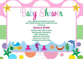 the sea baby shower invitations the sea baby shower invitations