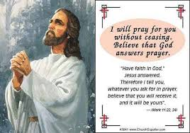 cards for sick friends will pray for you jesus pocket cards