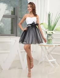 black and white homecoming dresses beautiful flowers homecoming