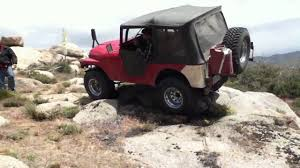 jeep cj prerunner jeep cj 5 1975 rock climbing youtube
