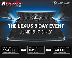 lexus lx for sale in edmonton lexus 3 day event